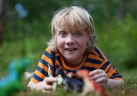 Photo of Gus, whose condition inspires Everest to End Duchenne's quest for better DMD research