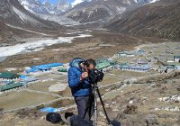 Filming In to the wind, Everest to end Duchenne