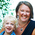 2015 Everest Team member Tonya Dreher and son Gus